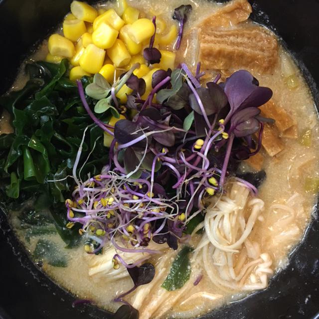 Delicioso ramen natural, casero y saludable.